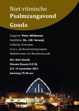 Samen psalmen zingen in Gouda