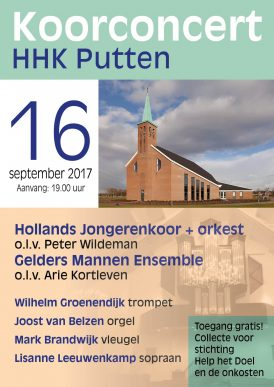Het Hollands Jongerenkoor 8 in concert
