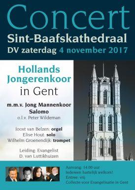 Hollands Jongerenkoor in concert