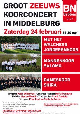 Groot Zeeuws Koorconcert in Middelburg