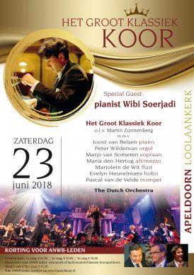 Groot Klassiek koor met Wibi Soerjadi in Concert