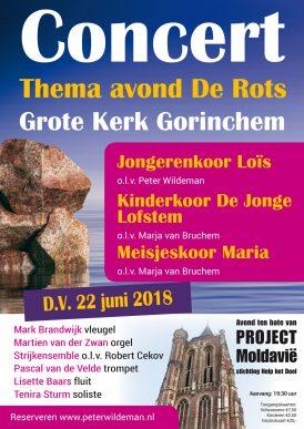 Concert, thema: De Rots