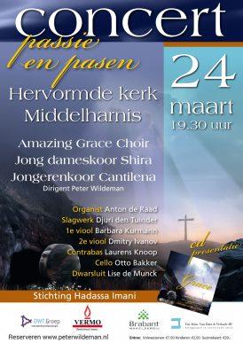 Concert passie en pasen Grote kerk Middelharnis