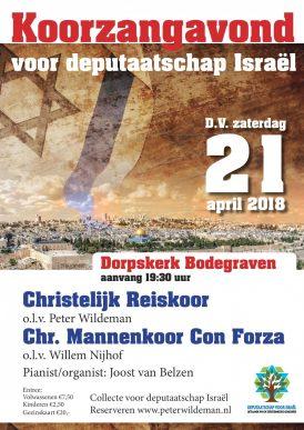 Concert Bodegraven voor Israël