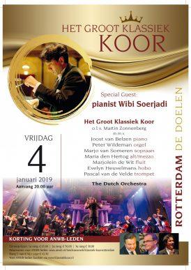 Groot Klassiek Koor & Wibi Soerjadi, Nieuwjaarsconcert