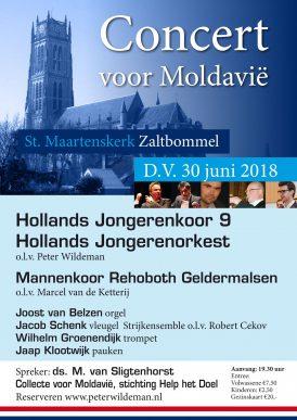 Concert Hollands Jongerenkoor in Zaltbommel!