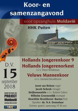HJK9 en orkest en Veluws Mannenkoor