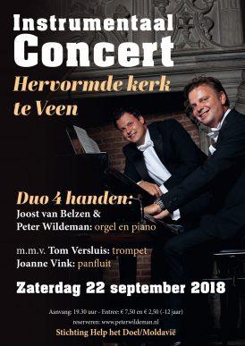 Instrumentaal concert duo 4 handen