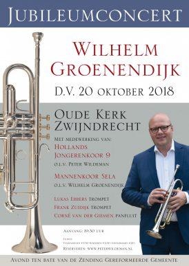 Jubileumconcert Wilhelm Groenendijk & Friends