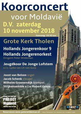 Hollands Jongerenkoor- en orkest in Tholen