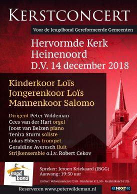 Kerstconcert in Heinenoord