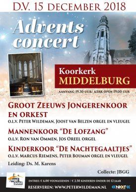 Adventsconcert koorkerk te Middelburg