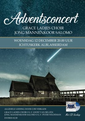 Adventsconcert Grace Ladieschoir & Jong Mannenkoor Salomo