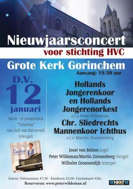 Nieuwjaarsconcert voor stichting HVC