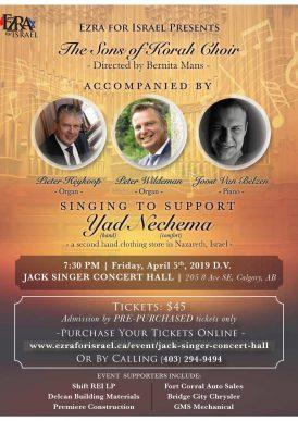 Concert in Jack Singer Concert Hall Calgary (Canada)