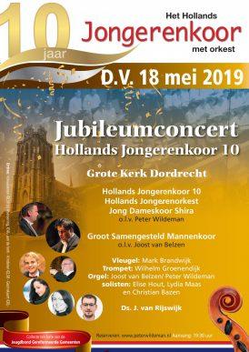 Jubileumconcert Hollands Jongerenkoor 10
