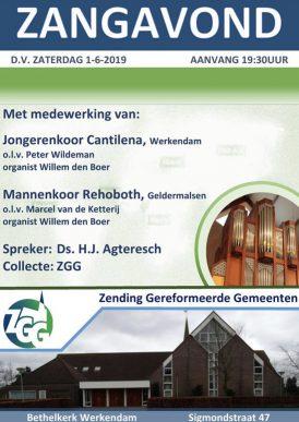 Korenconcert in Werkendam