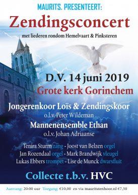 Zendingsconcert Grote kerk te Gorinchem