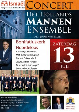 Hollands Mannenensemble in concert