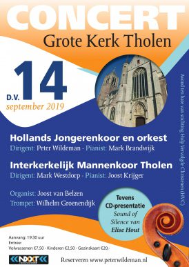 Het Hollands Jongerenkoor 10 Jubileumconcert in Tholen