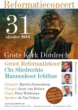 Groot Reformatieconcert in Dordrecht