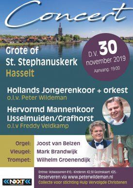 Hollands Jongerenkoor 11 en orkest & Mannenkoor IJsselmuiden/Grafhorst