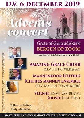 Adventsconcert Grote of Gertrudiskerk Bergen op Zoom