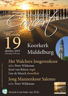 CD-presentatieconcert Walchers Jongerenkoor