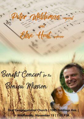 Concert voor Bonisa Mission in Grand Rapids USA