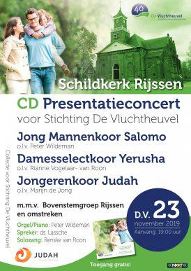Jong Mannenkoor Salomo  & Jongerenkoor Judah in concert