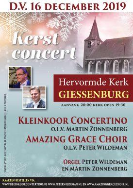 Kerstconcert Concertino en Amazing Grace Choir