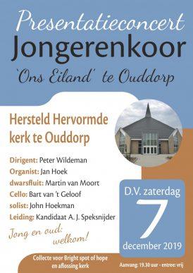 Presentatieconcert Jongerenkoor Ons Eiland te Ouddorp