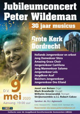 Jubileumconcert Peter Wildeman 30 jaar musicus