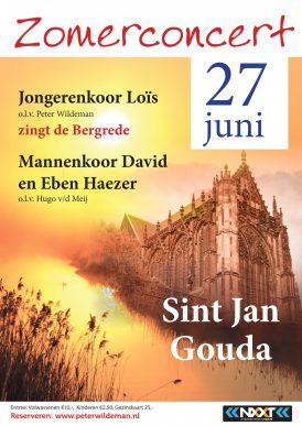 Concert met Jongerenkoor Loïs in de Sint-Janskerk te Gouda