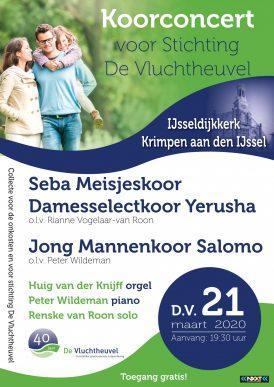 Koorconcert met Renske van Roon en Jong Mannenkoor Salomo en Seba meisjeskoor/Yerusha