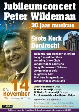 Jubileumconcert Peter Wildeman