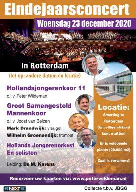 Eindejaarsconcert in Rotterdam