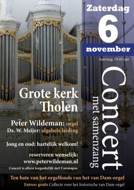 Concert met samenzang